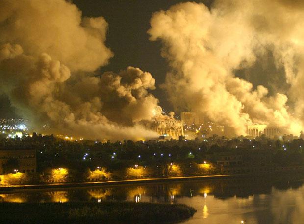EEUU lanzó una bomba nuclear en Iraq