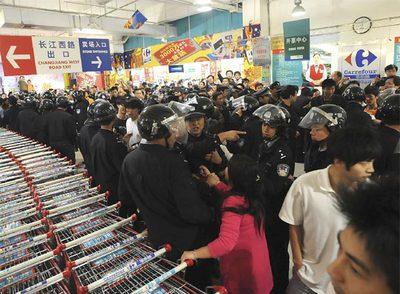 Los chinos desatan su ira contra Carrefour