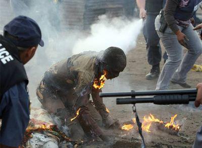 Violencia en Sudáfrica