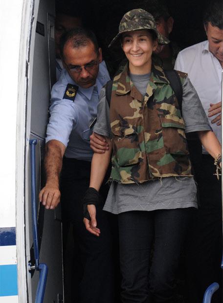 Ingrid Betancourt llega a Bogotá