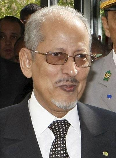 El presidente de Mauritania