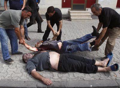 hombres muertos: