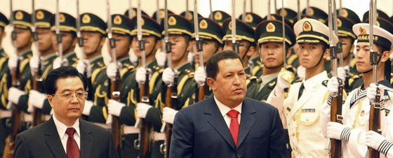 Segunda jornada de Chávez en China