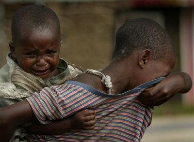 Dos niños de la República Democrática del Congo, uno de los países más pobres e inestables de África.- AP
