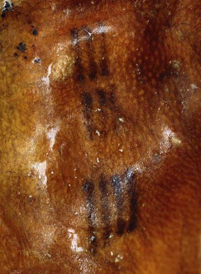 Uno de los tatuajes de Oetzi