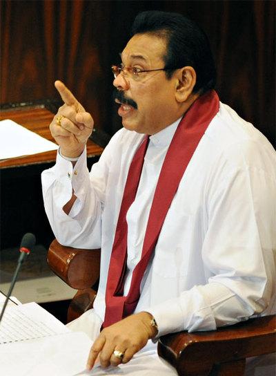 El presidente de Sri Lanka se felicita por la victoria contra los 'tigres' tamiles