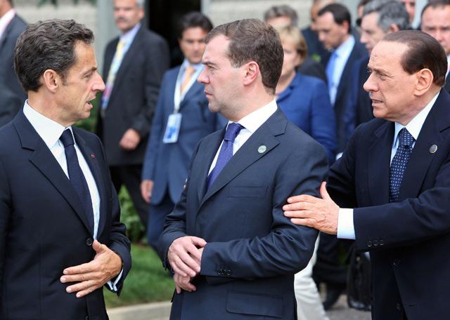 Cumbre del G-8 en L'Aquila  - La apuesta de Berlusconi