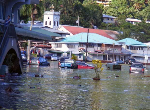 'Tsunami' en Samoa