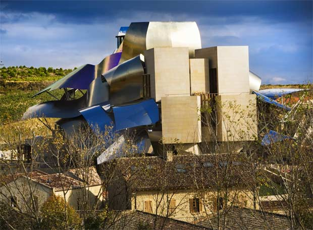 Retrospectiva de Frank Ghery - Arquitectura en la ciudad del vino