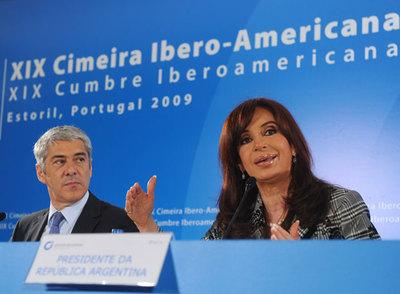 Cristina Fernández, en Estoril