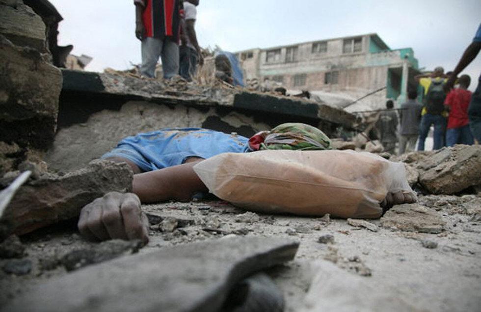 Un terremoto provoca una catástrofe en Haití  - Heridos