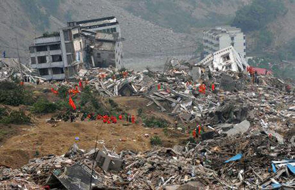 Un terremoto provoca una catástrofe en Haití  - Destrucción
