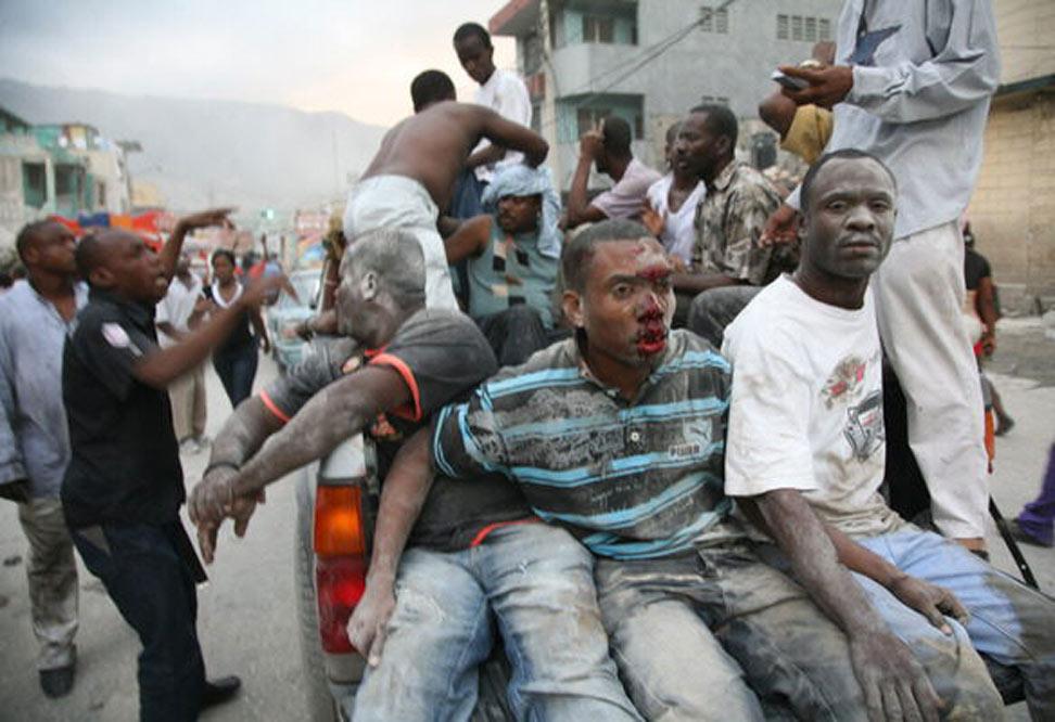 Un terremoto provoca una catástrofe en Haití  - Ayuda entre ciudadanos