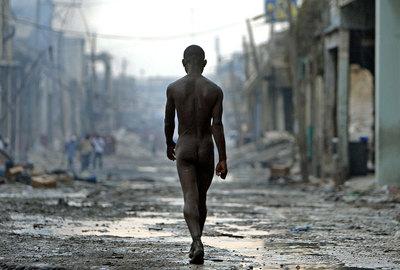 Desnudo en Haití
