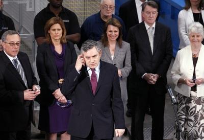 Gordon Brown se la juega