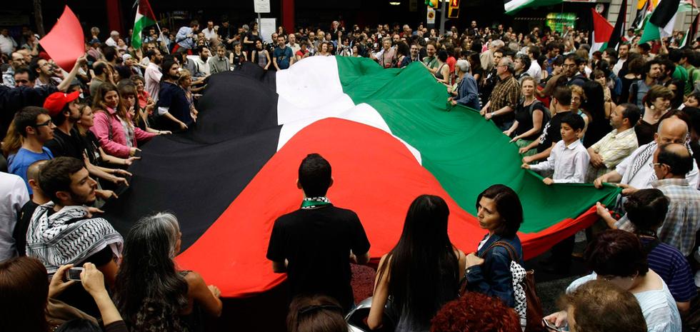 Manifestaciones contra el ataque israelí  - Barcelona