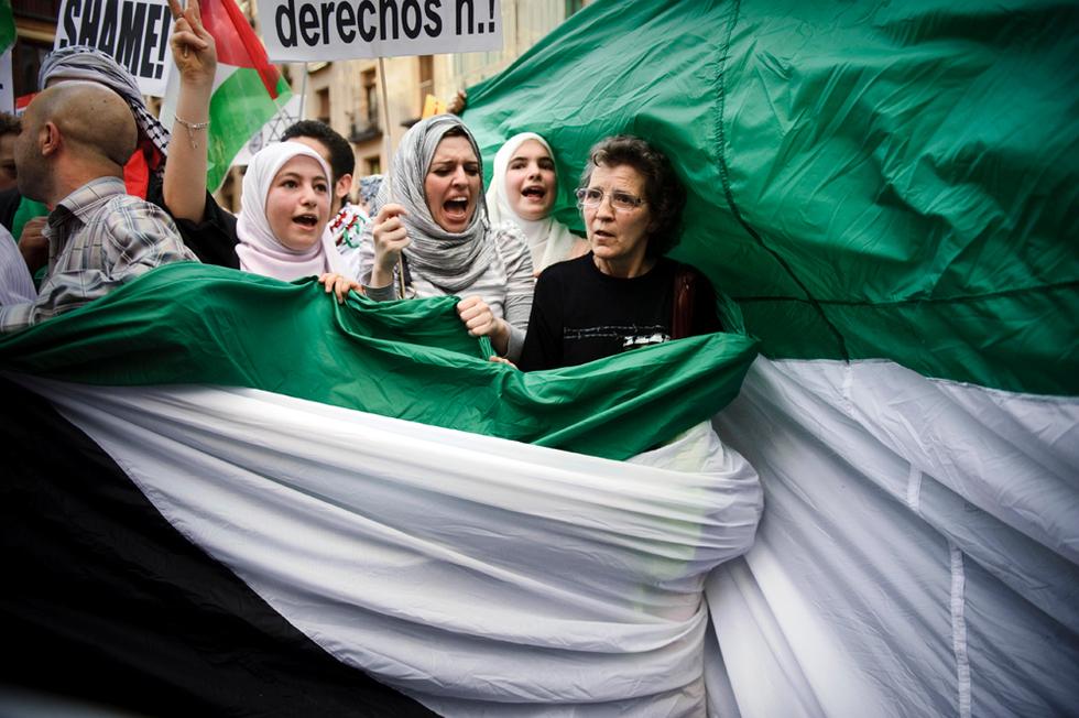 Manifestaciones contra el ataque israelí  - Madrid