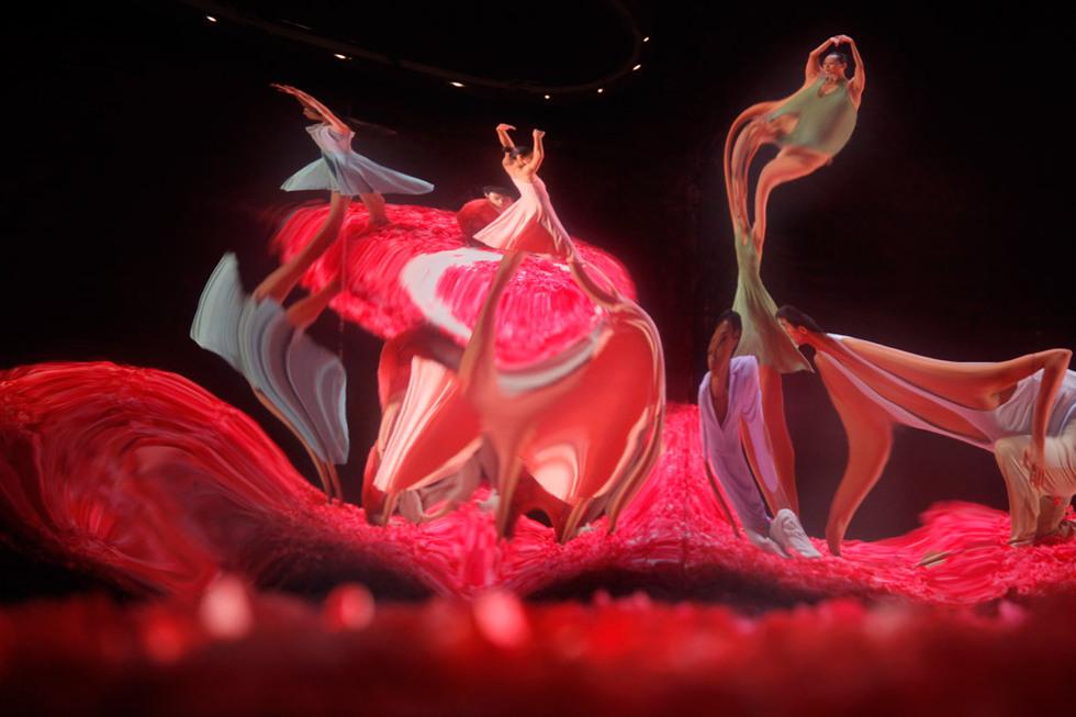 Ballet sobre espejo