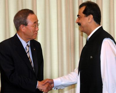 La ONU llega a Pakistán