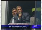 Correa, atacado con gases lacrimógenos