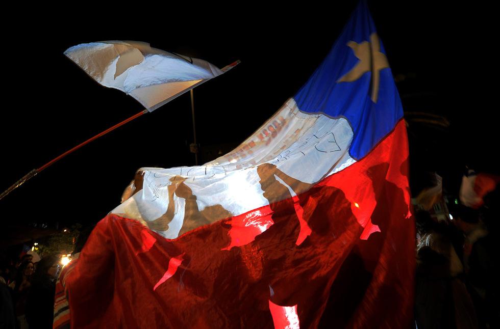 Las mejores imágenes del rescate  - Chile unida
