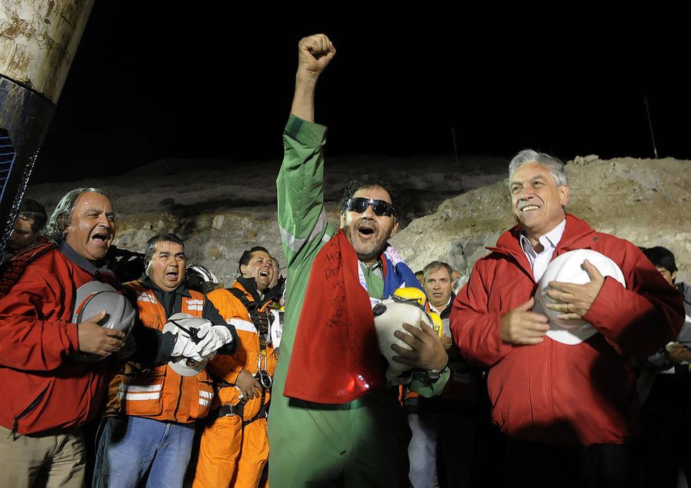 Las mejores imágenes del rescate  - El último rescatado