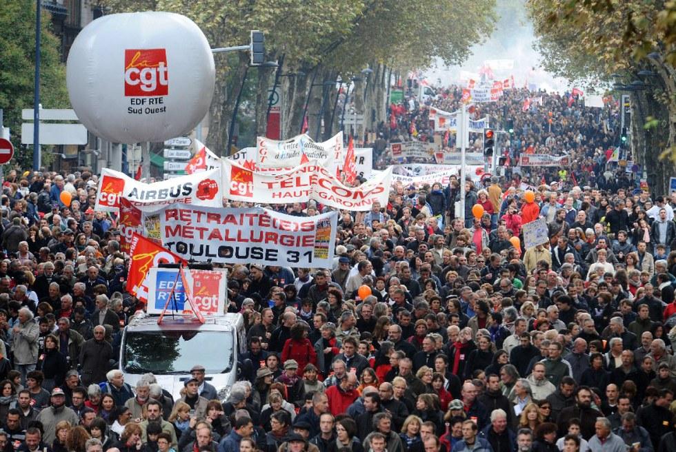 Sábado de protestas en Francia