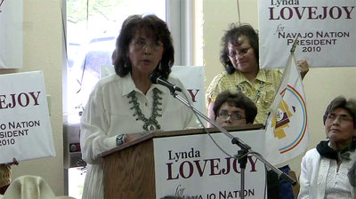 Derrota de la primera mujer que quiso presidir a los Navajos