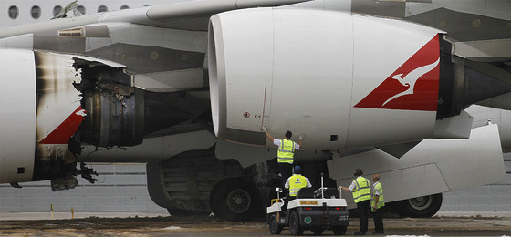 Susto en el mayor avión de pasajeros del mundo