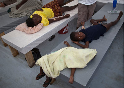 Una decena de muertos en Puerto Príncipe por el cólera