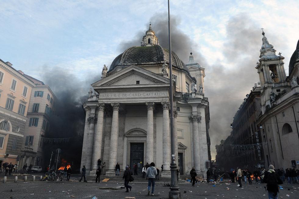 Fuego en Roma