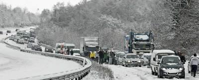 El tráfico aéreo en Europa continúa resintiéndose por la nieve