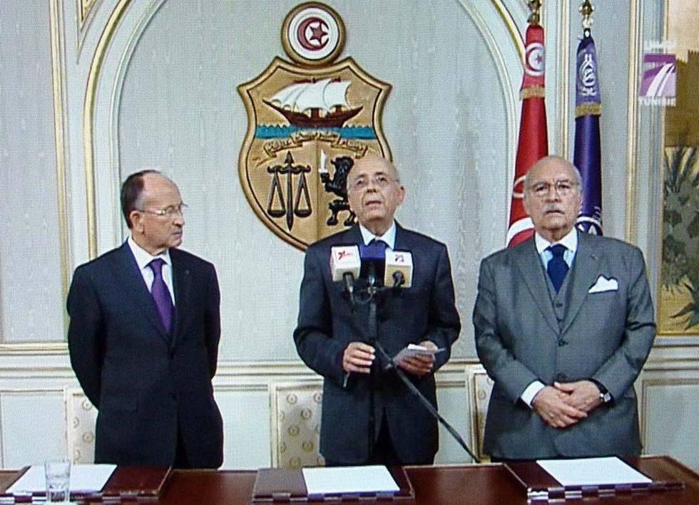 El fin del régimen de Ben Ali en Túnez  - Discurso a la nación