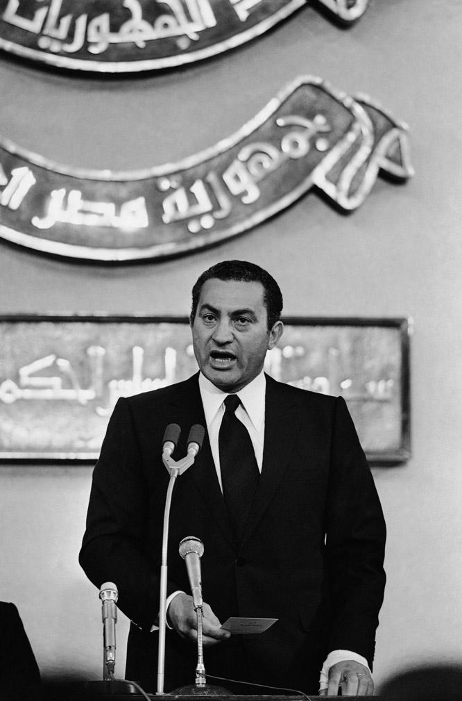 Las tres décadas de Mubarak en el poder  - La llegada al poder