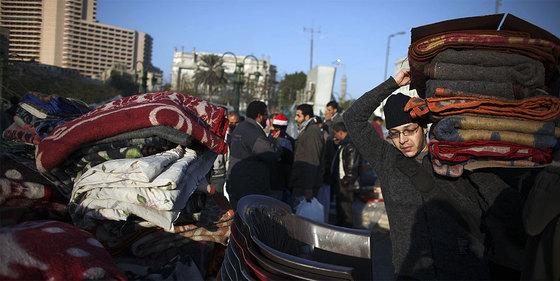 Israel - Comienza la Revolución en Egipto. Celebracion