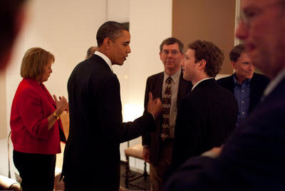Obama se reúne con los 'dueños' de Internet