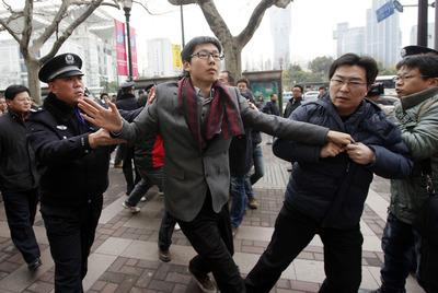 Protestas en China
