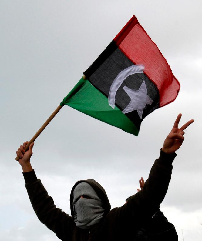 NOSTRADAMUS ADVIERTE: REGRESARÁ LA MONARQUÍA A LIBIA Bandera_tricolor