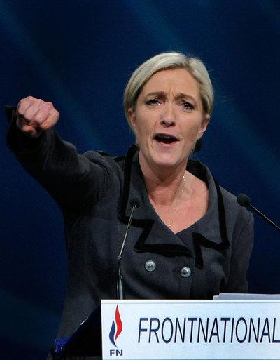 """Marine Le Pen lanza el Frente Nacional """"a la conquista del poder"""""""