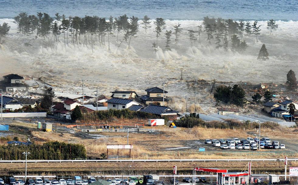 Terremoto en Japón  - La gran ola