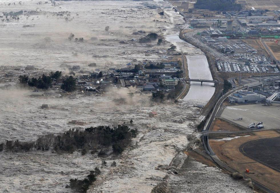 Terremoto en Japón  - Iwanuma
