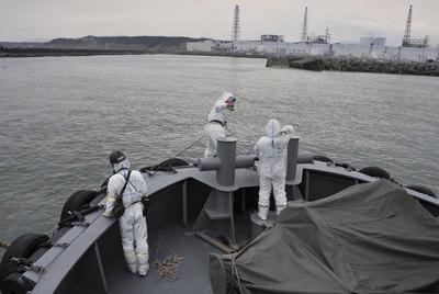 Miembros de la marina japonesa