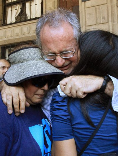Javier Sicilia, tras leer el poema en homenaje a su hijo asesinado