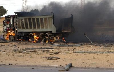 Submunición española usada por Gadafi