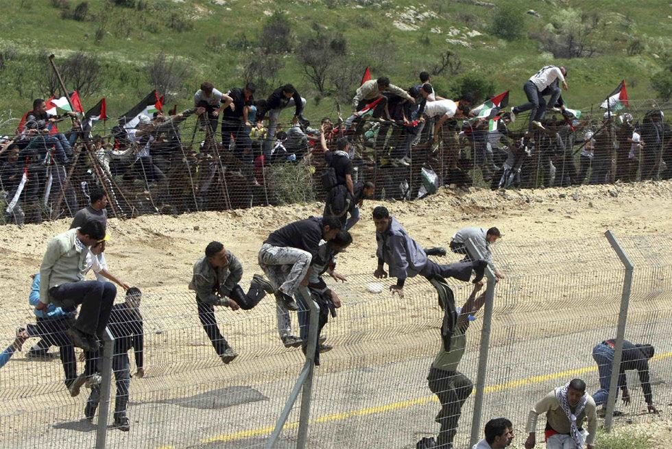 En la frontera siria