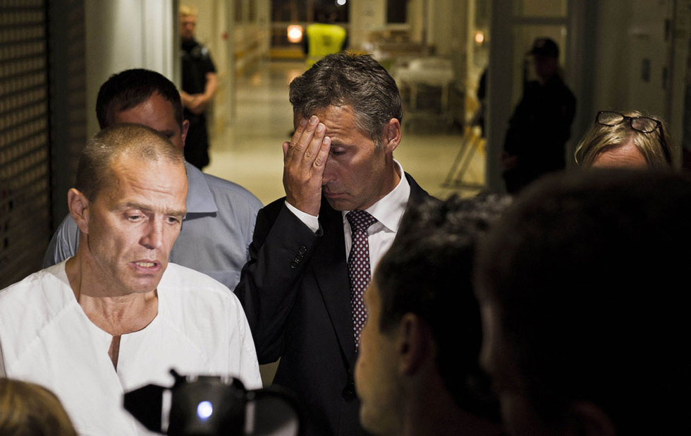 Doble atentado en Noruega  - Primer ministro abatido
