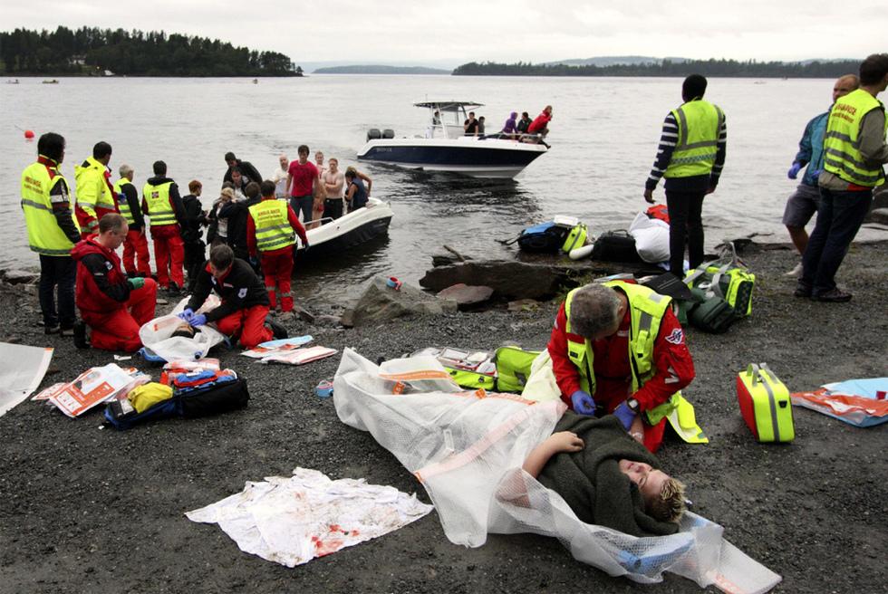 Doble atentado en Noruega  - Al menos 80 muertos en Utoya
