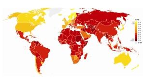 Lista de los paises mas corruptos del mundo