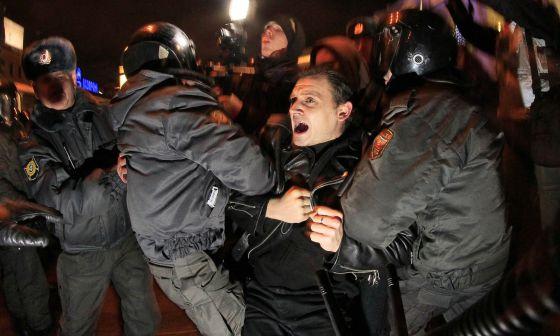 Infracciones masivas en las elecciones parlamentarias rusas