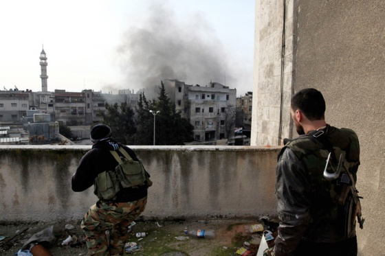 fotos de la guerra en Siria